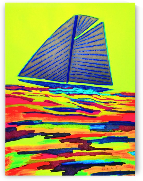 Sailboat by David Beck