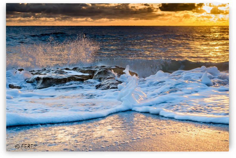Wave_Beach_Print (1 of 1) by Nosbel