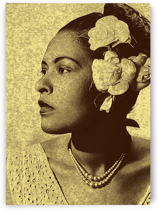 Billie Holiday American singer Collection 2 by RANGGA OZI