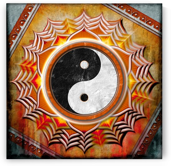 Yin Yang - The Healing Of The Orange Chakra by Dirk Czarnota