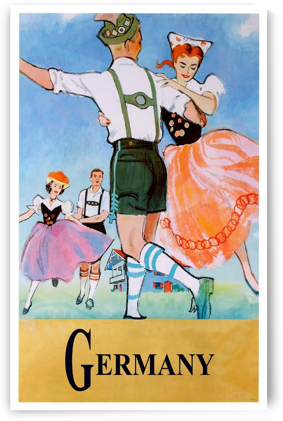 Folklore Dance in Germany by vintagesupreme