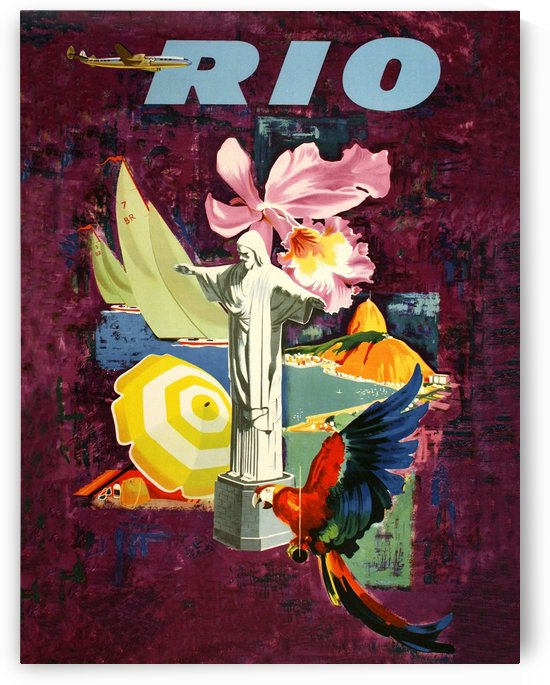 Fly to Rio by vintagesupreme