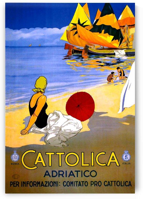 Cattolica Adriatic Beach by vintagesupreme