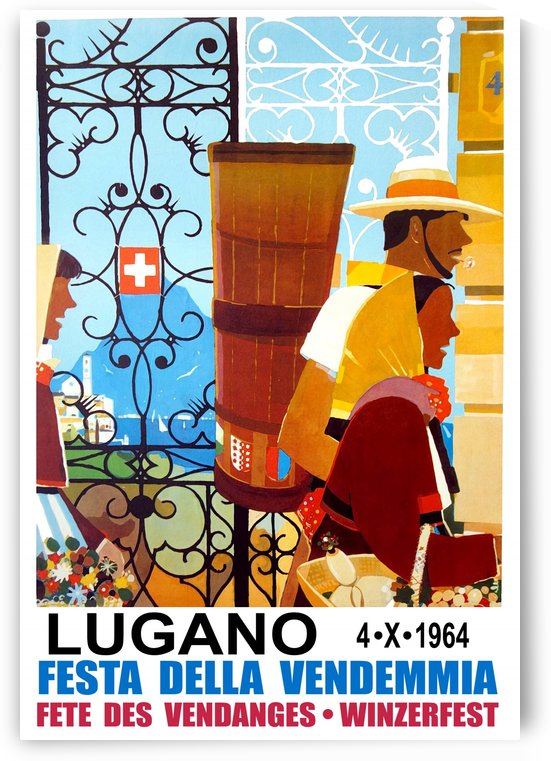 Farmers Going to Lugano by vintagesupreme