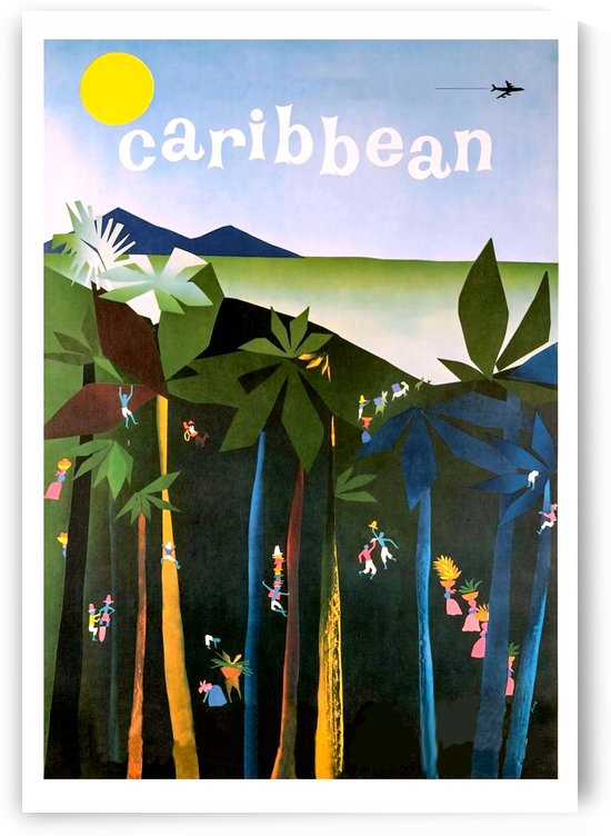Fly to Caribbean by vintagesupreme