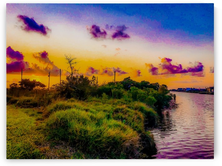 Sargent Sunset Canal 0820 by Shay Morrow