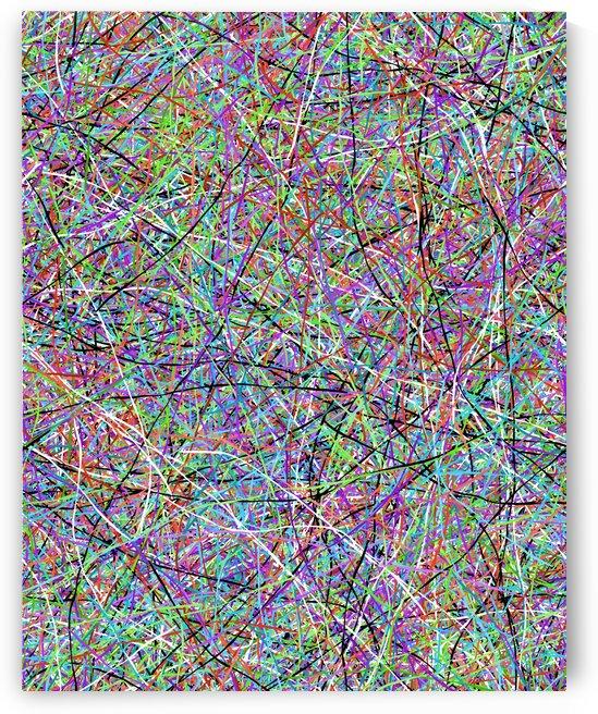 abstract splatter flow art by paru raj
