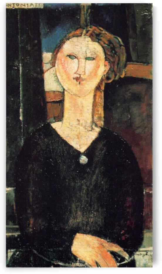 Modigliani - Antonia by Modigliani
