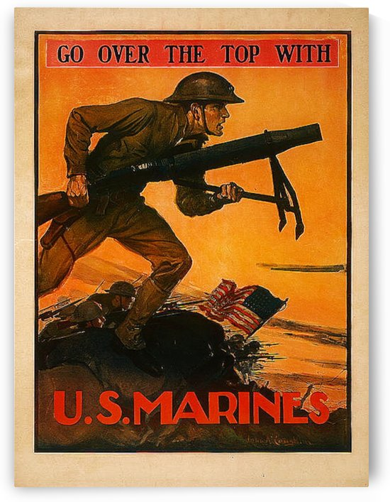 1917 Marines by Tauna Jean