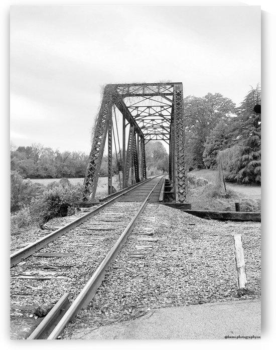 Train Bridge in Elkin NC by Bam-s Photography