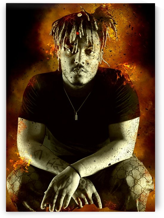 Juice wrld burning by mimabags