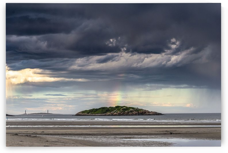 Twin Light rainbow 2 by RMFotography