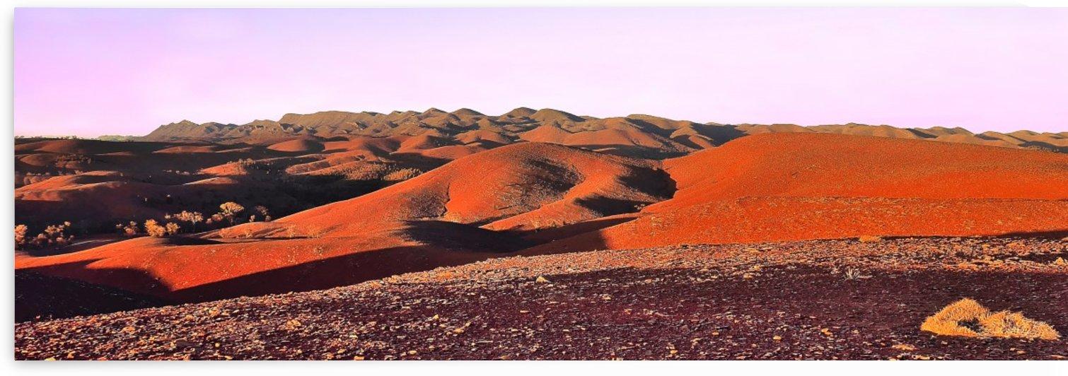 Sunset on the Flinders Ranges by Lexa Harpell