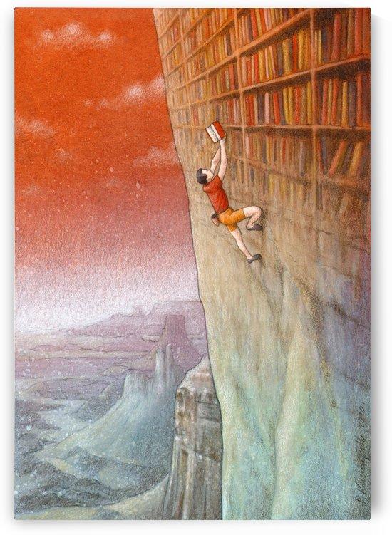 climbing by Pawel Kuczynski