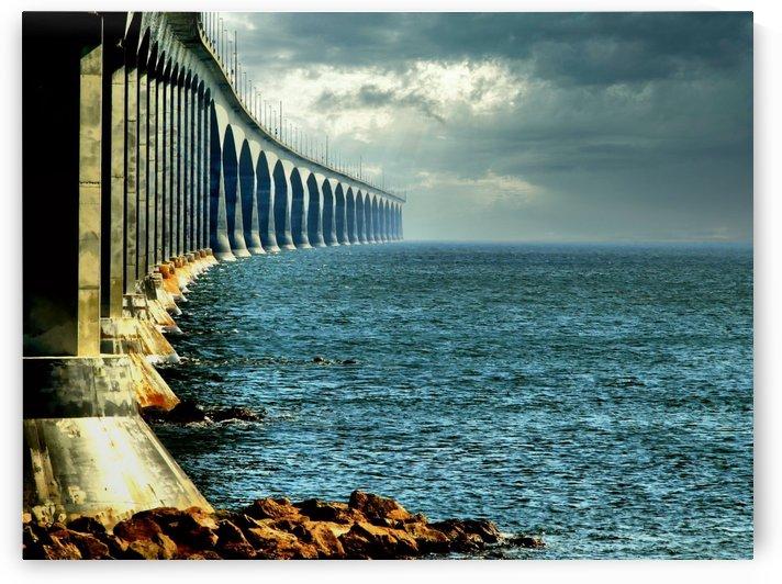 Confederation Bridge - Canada by Flodor