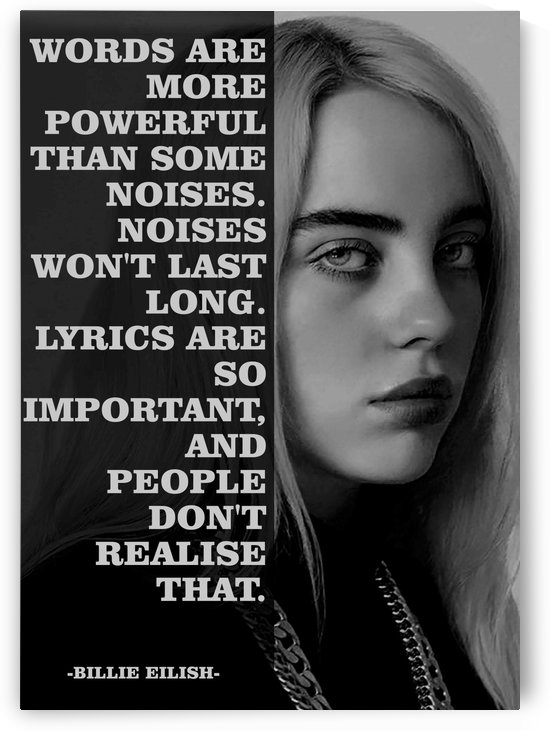 Billieeilishquotes1 by mimabags