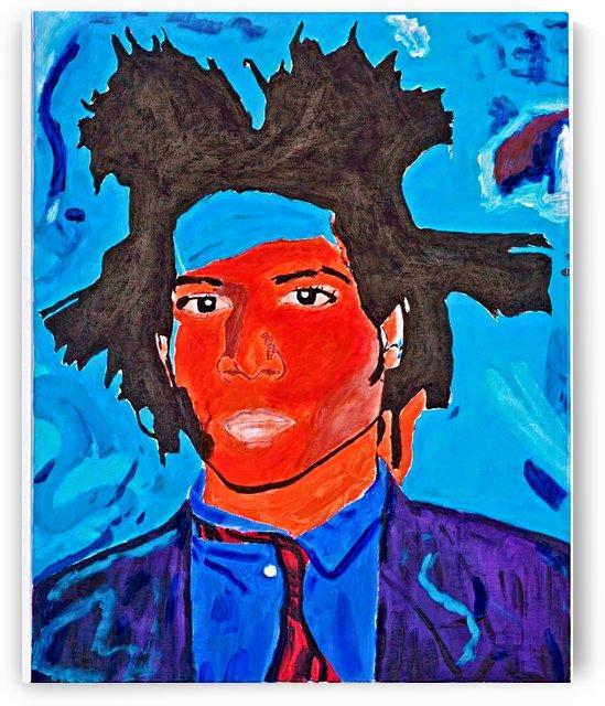 Jean Michel Basquiat  by Monel King Aliote