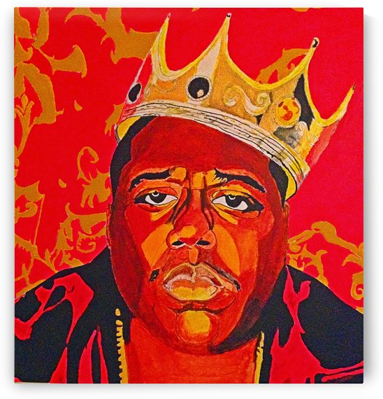 The Notorious BIG by Monel King Aliote