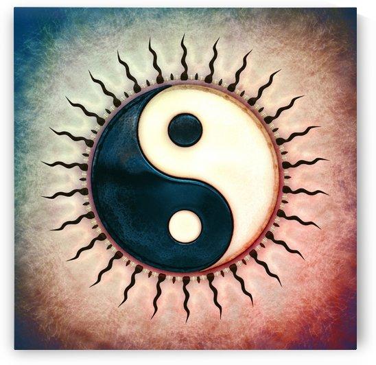 Yin Yang - Sun II by Dirk Czarnota