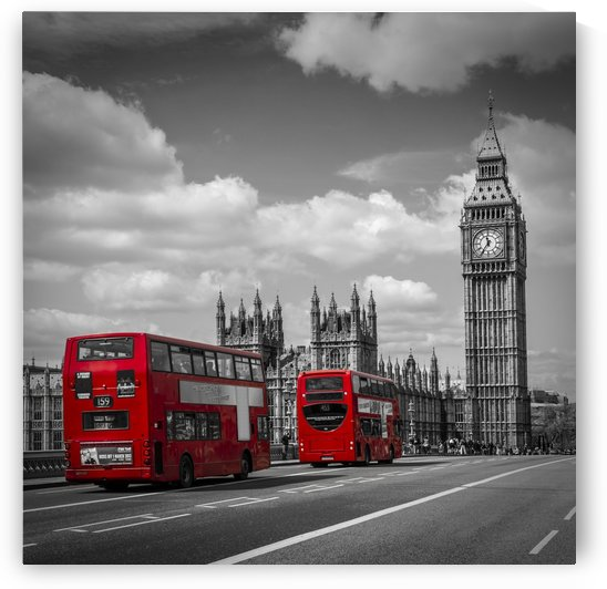 Typical London by Melanie Viola