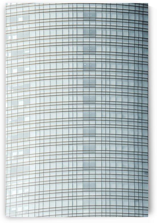 Glass Sound City Pattern Print Minimalist Abstract Print Modern Glass Building Facade Minimal by Radu Bercan