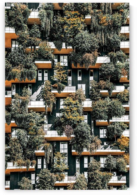 Bosco Verticale Vertical Forest Milan Residential Towers Modern Building Trees Shrubs by Radu Bercan
