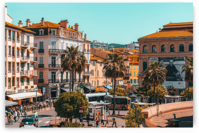 Beautiful Exotic City Of Cannes Cote DAzur French Riviera Downtown Urban Cannes City by Radu Bercan