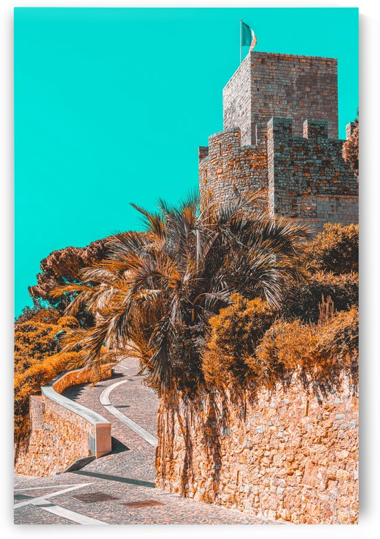 Le Suquet Castre Tower Cannes City French Riviera France Castle Tower Medieval Architecture by Radu Bercan
