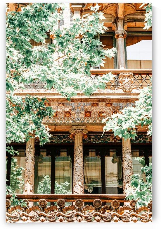 Barcelona Architecture Travel Print Exploring Barcelona Building Details Facade Architectural by Radu Bercan