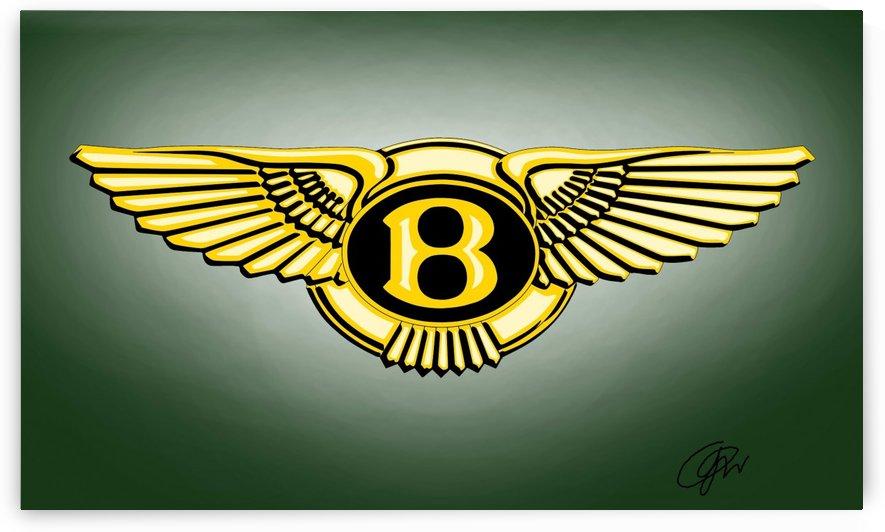bentley logo by Khajohnpan