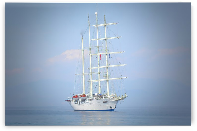 Sailing Yacht ... Kusadasi Turkey by Fred J Bivetto