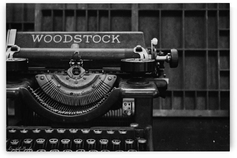 Typewriter by Lisa Ann Barker