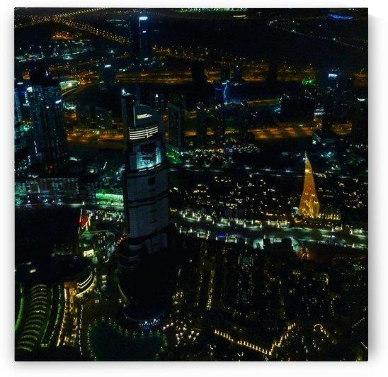 Dubai Skyline  by VantagePoint