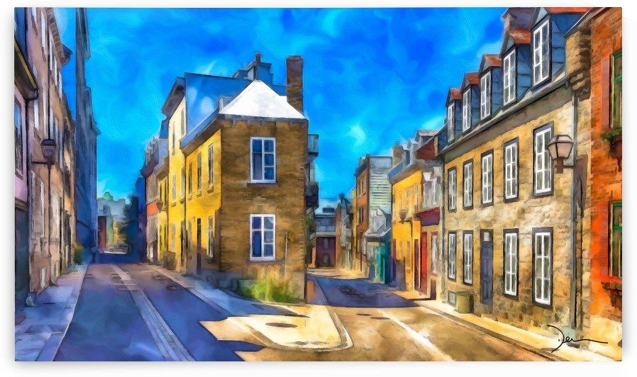 Rue de Quebec by Jean-Louis Desrosiers