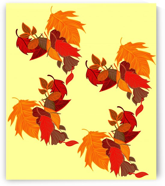 Fallen leaves pattern by Chino20