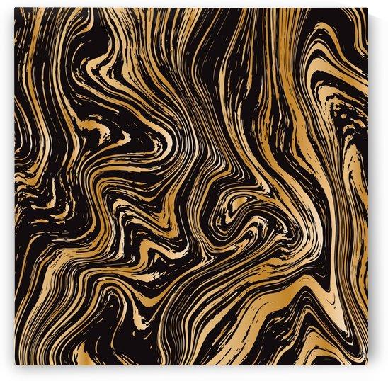 Black Liquid Marble by rizu_designs