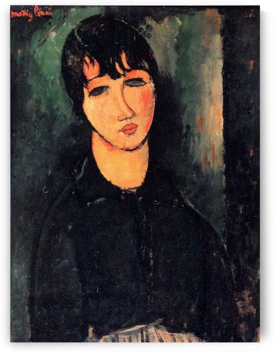 Modigliani - Housemaid by Modigliani