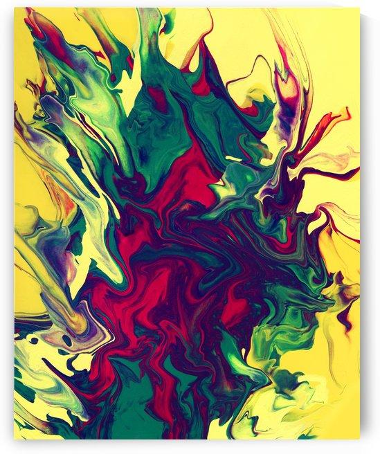 Red Rose by Pamela Soto