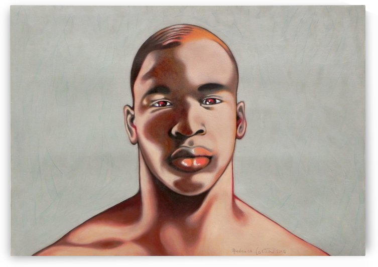 Portrait by federicocortese