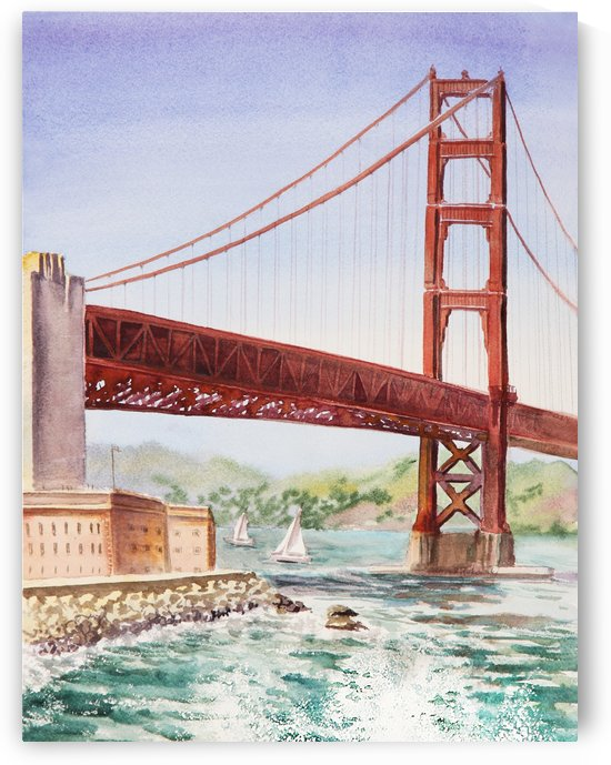 Golden Gate Bridge San Francisco by Irina Sztukowski