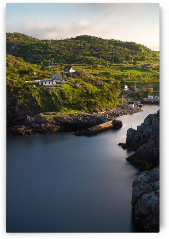 Quidi Vidi harbour by Alex Bihlo