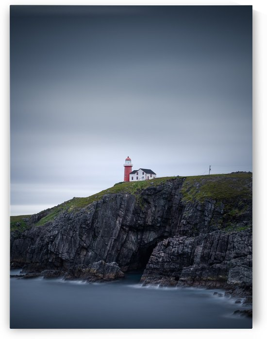 Ferryland lighthouse II by Alex Bihlo