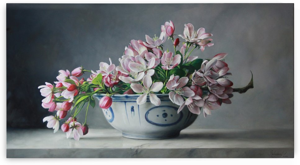japanese blossem by Pieter Wagemans