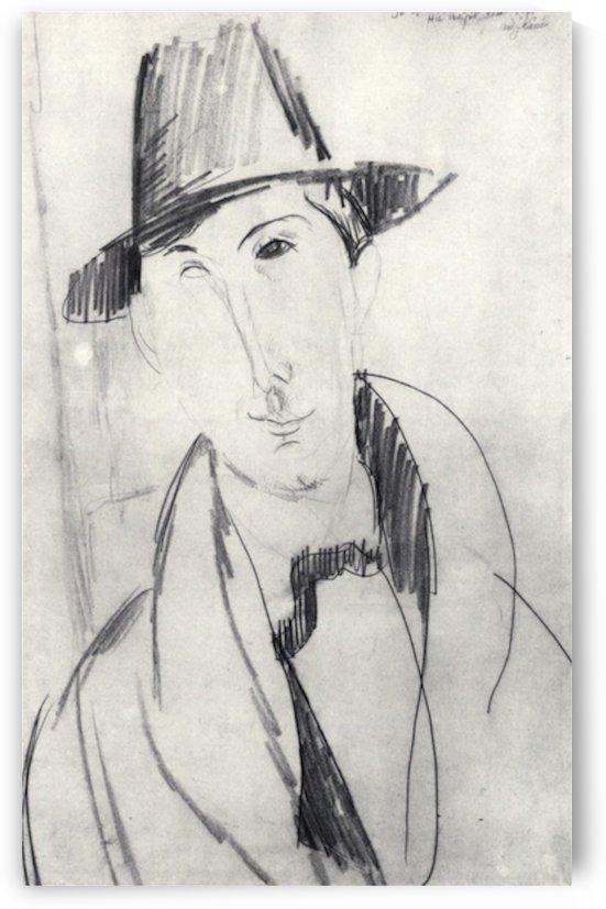 Modigliani - Mario Varvogli by Modigliani