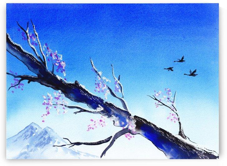 Spring In The Mountains by Irina Sztukowski