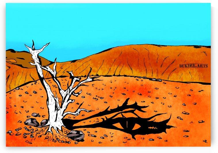 Mouth in a desert  by Dukiri arts
