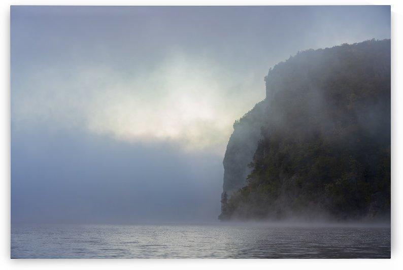 Misty morning in Bon Echo by Moe Shirani