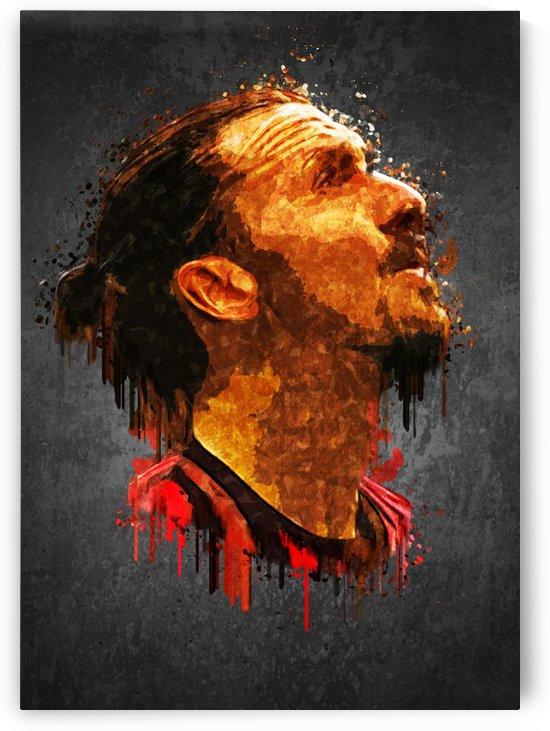 Zlatan Ibrahimovic by Gunawan Rb
