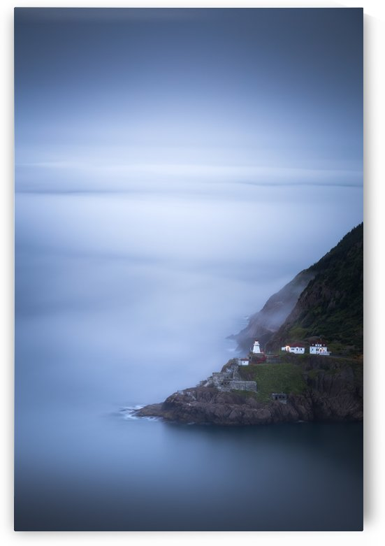 Fog over Fort Amherst by Alex Bihlo