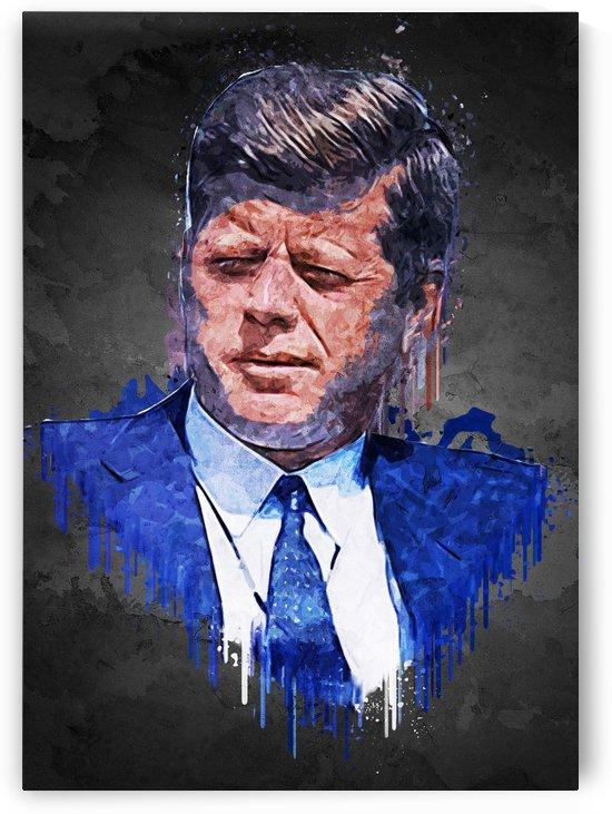 John F Kennedy. by Gunawan Rb